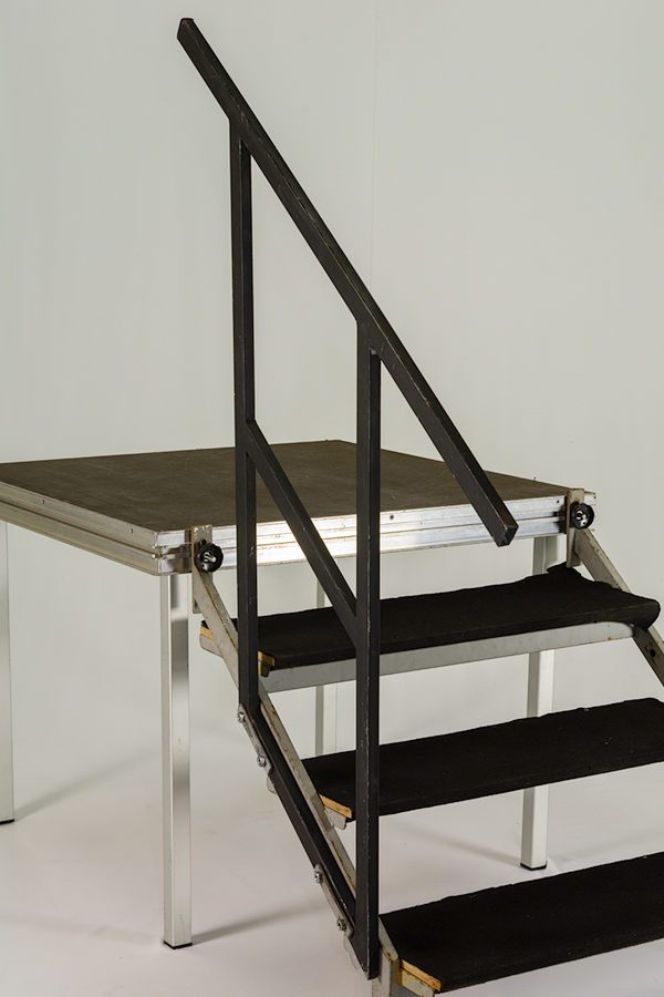 Alquiler de barandilla escalera tarima finlandia - Alquiler de escaleras ...
