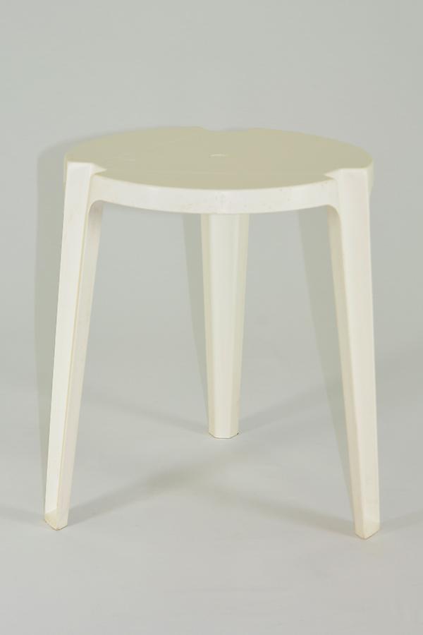 Arrendar mesa apilable redonda blanca for Mesa redonda blanca