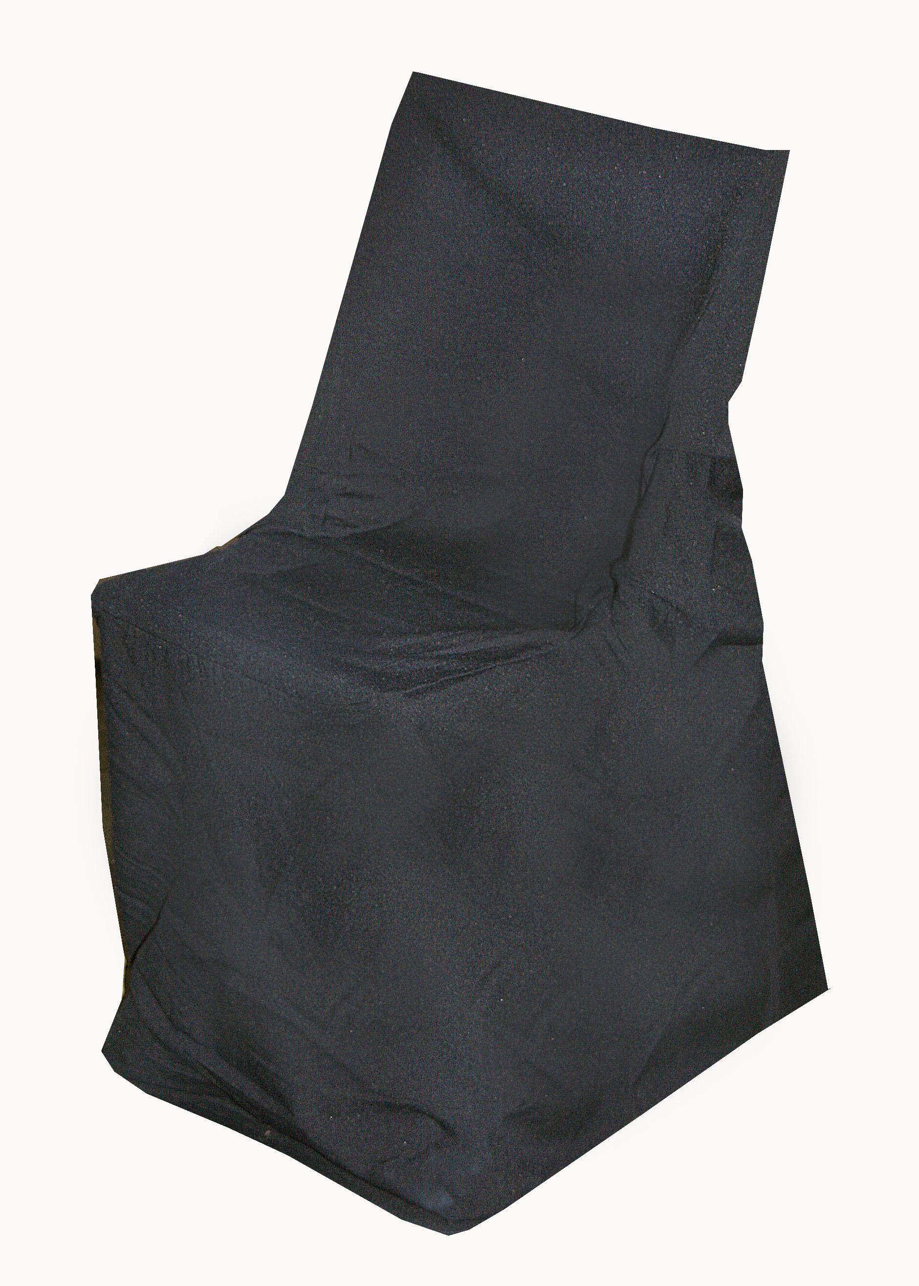 Alquiler de funda negra para silla plegable casagay - Alquiler de fundas de sillas para eventos ...