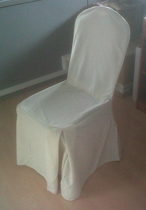 Alquiler de funda beige para silla americana gris amadeus casagay - Alquiler de fundas de sillas para eventos ...