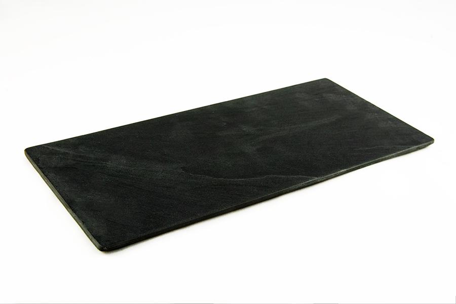 Alquiler de bandeja de pizarra rectangular 34x16cm casagay - Bandejas de pizarra ...