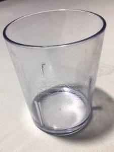 832- Vaso policarbonato, 41cl.