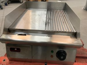 050- Plancha mixta eléctrica (40x50cm) 3000W